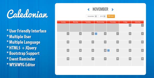 Free Download Caledonian Php Event Calendar Webopedian